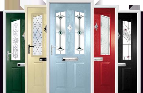 Composite timber doors harlech for Front door design uk